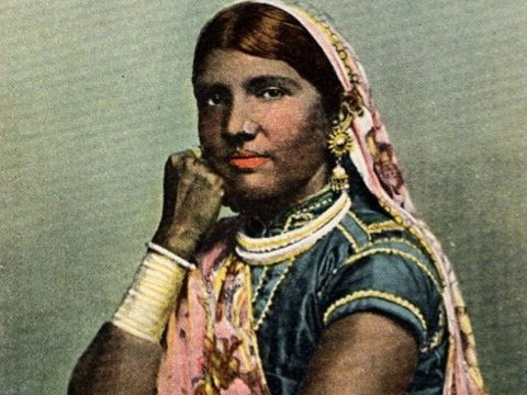 East Indian Woman, Trinidad, B.W.I.