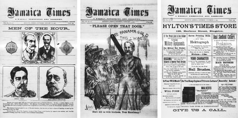 1905 editions of the Jamaica Times