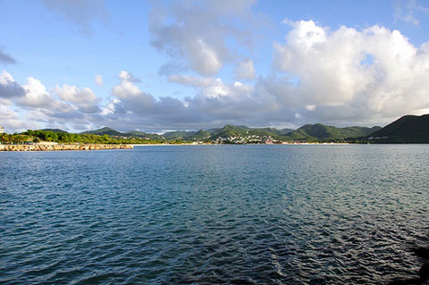 View of St Lucia, by Mike Werner