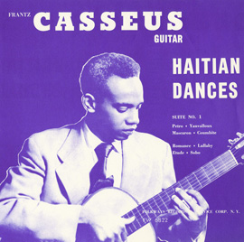 Cover artwork for Haitian Dances, by Frantz Casséus