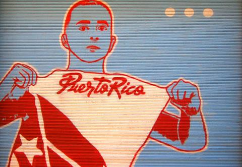 Mural in Old San Juan, Puerto Rico