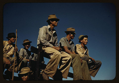 Sugar workers, Puerto Rico, 1941
