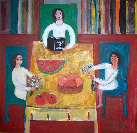 Sharing at the Table, by Seya Parboosingh