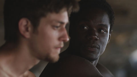Johnny Ferro and Stephen Tyrone Williams in Children of God