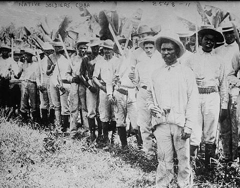 Native soldiers, Cuba, circa 1910