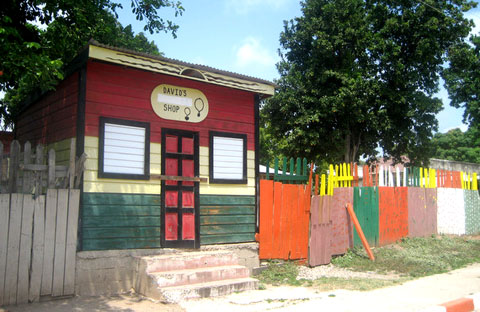 Shop in Trench Town, Jamaica