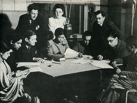 una marson and other writers at the bbc