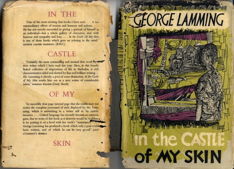Dustjacket of first edition of In the Castle of My Skin